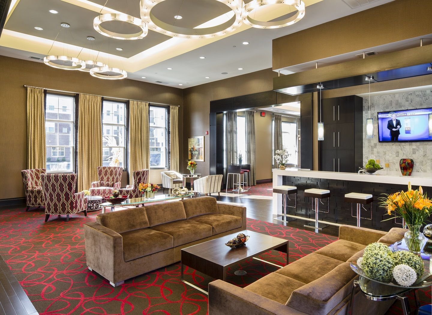 Luxury Apartments Townhomes Condominiums In Cherry Hill Nj Luxury Apartments Luxury Townhomes Lounge Areas