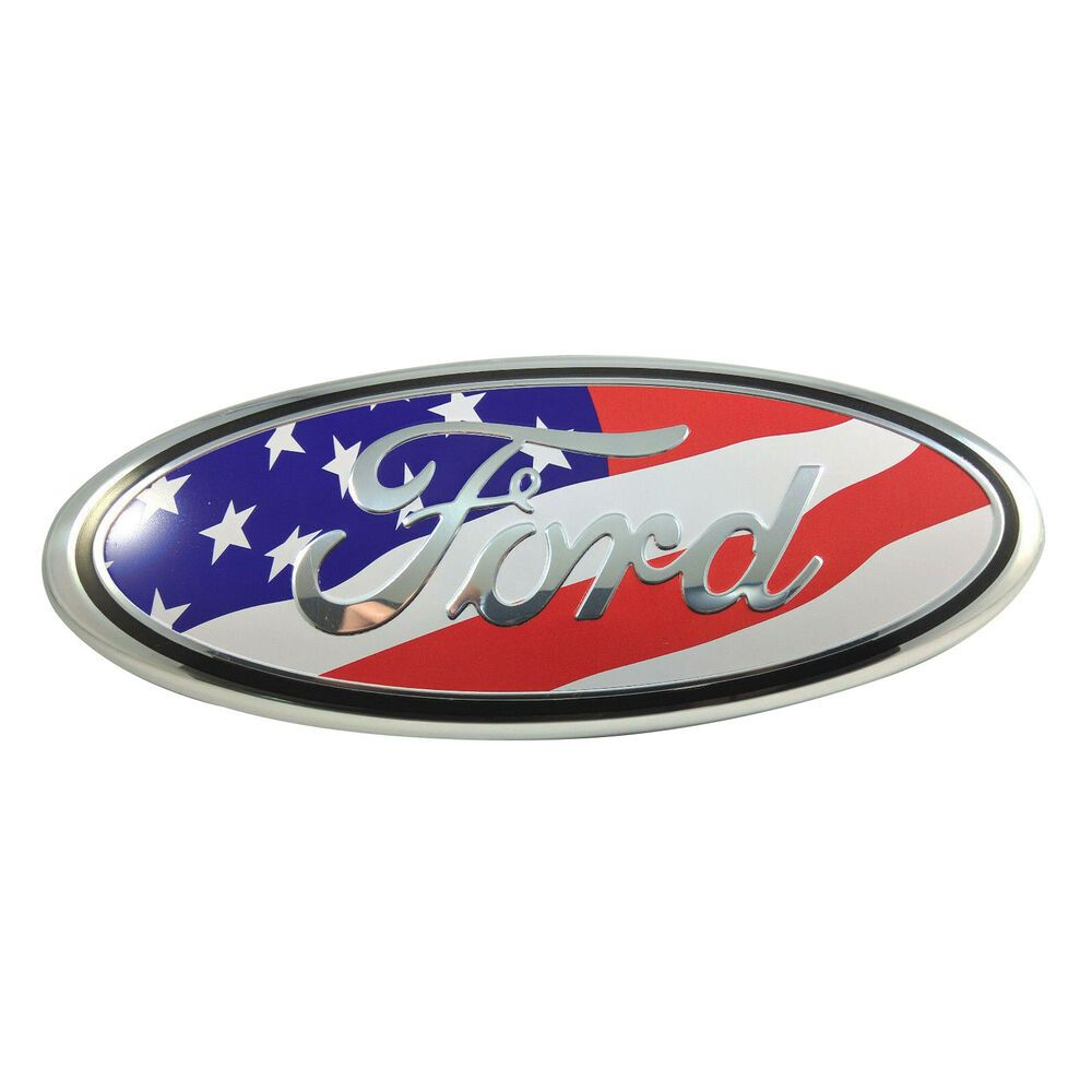 Sponsored Ebay 9 American Flag Ford F150 04 14 Front Grille