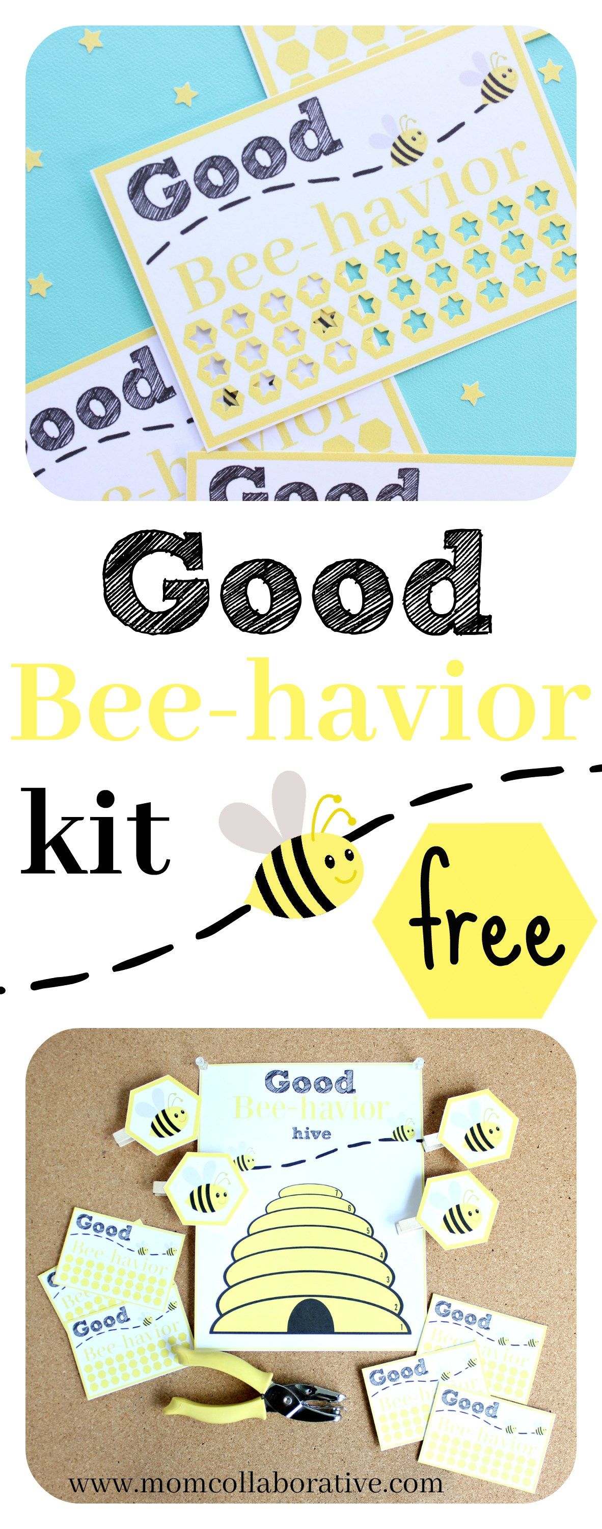 Good Behavior Reward Charts And Punch Card Free Printables