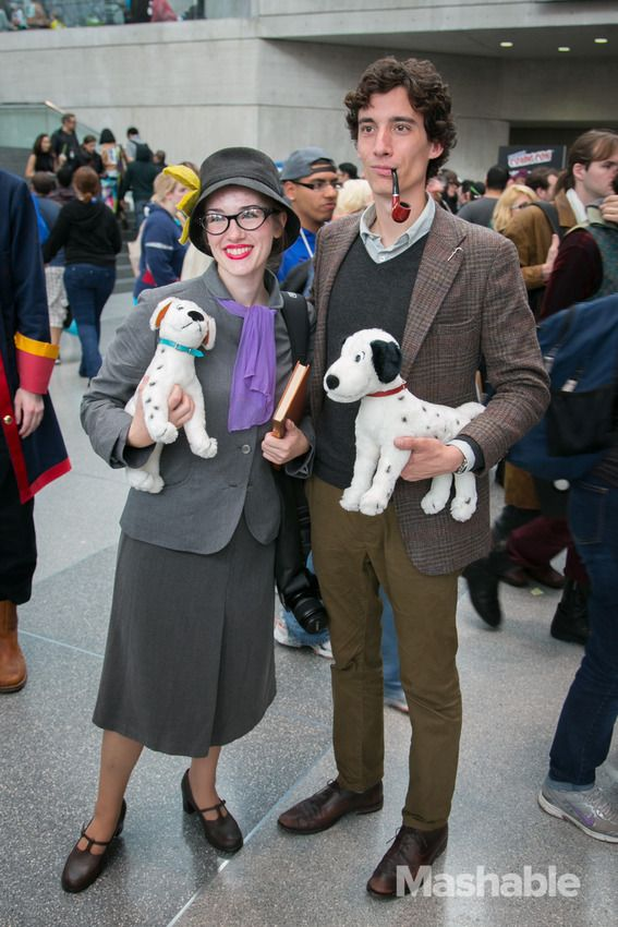 35 Cutest Cosplay Couples At New York Comic Con Halloween Costumes