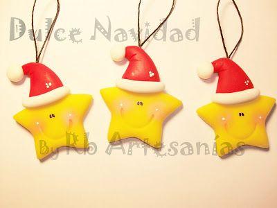 Manualidades Navidenas Con Arcilla.Rb Artesanias Navidad De Arcilla Polimerica Arcilla De