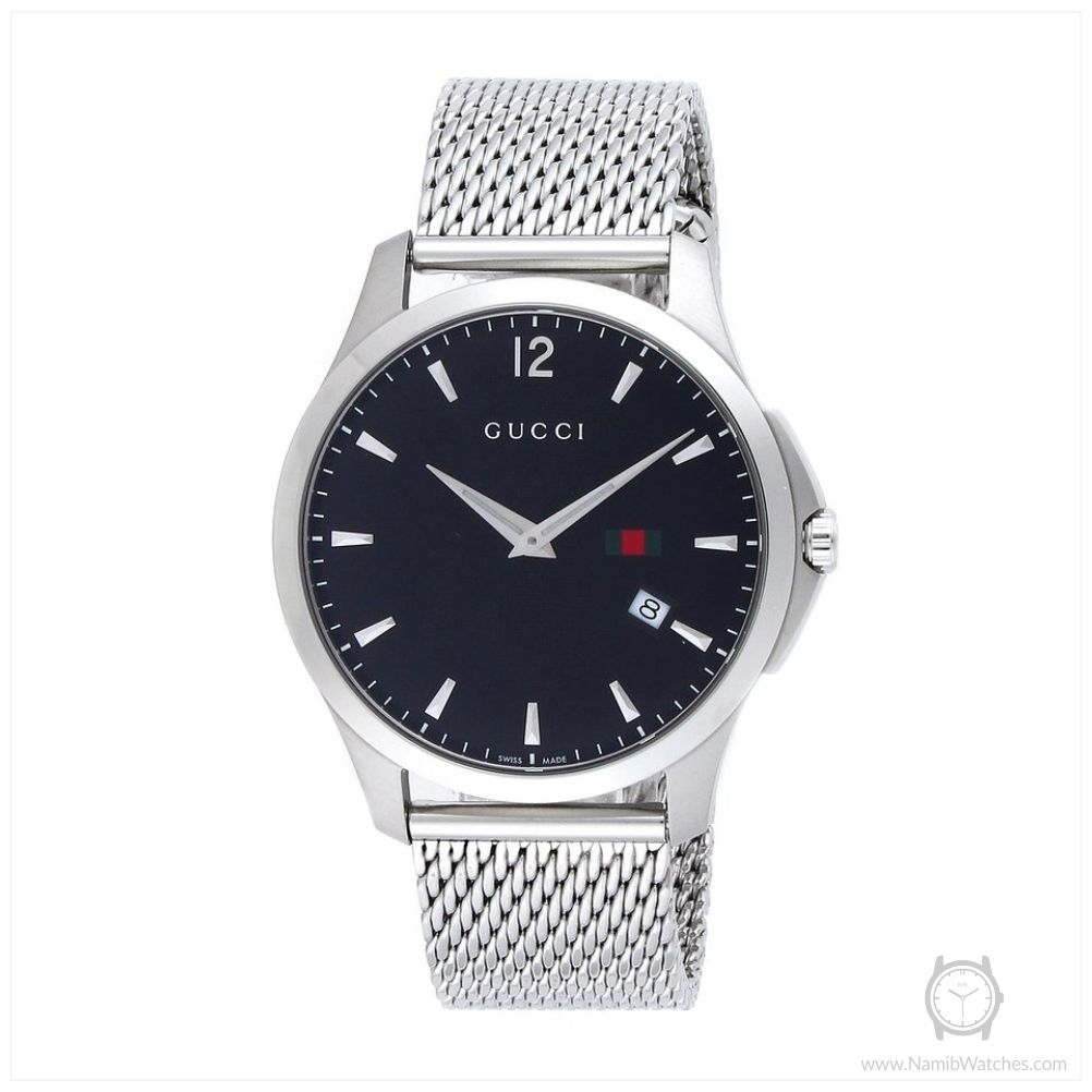 ed40c6499da Gucci Ya126308 G Timeless Black Dial Men s Watch
