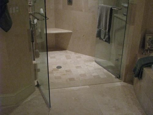 Curbless Design Curbless Shower Stall Rick And Susie Build A