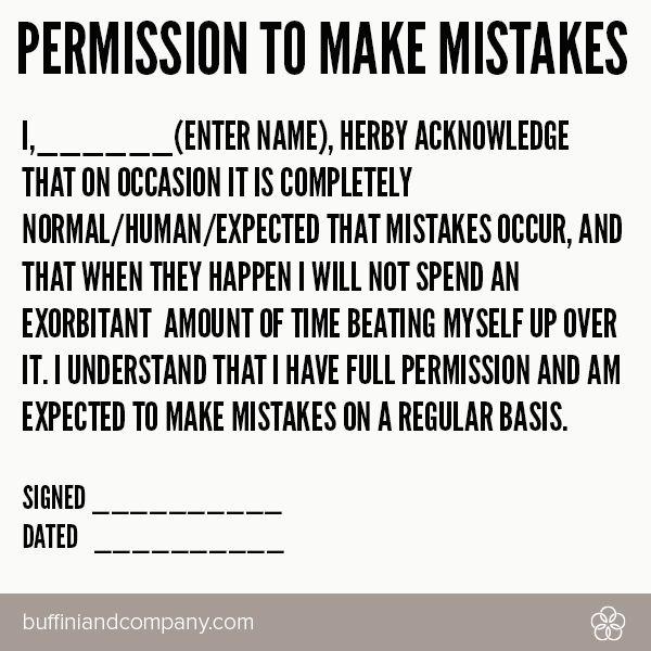 Captivating Donu0027t Be Afraid To Make Mistakes! No Risk, No Reward! #
