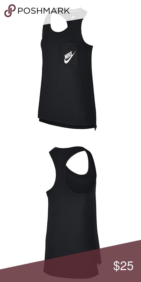 88e001b32d14a2 Women s Nike Logo One Pocket Tank Top