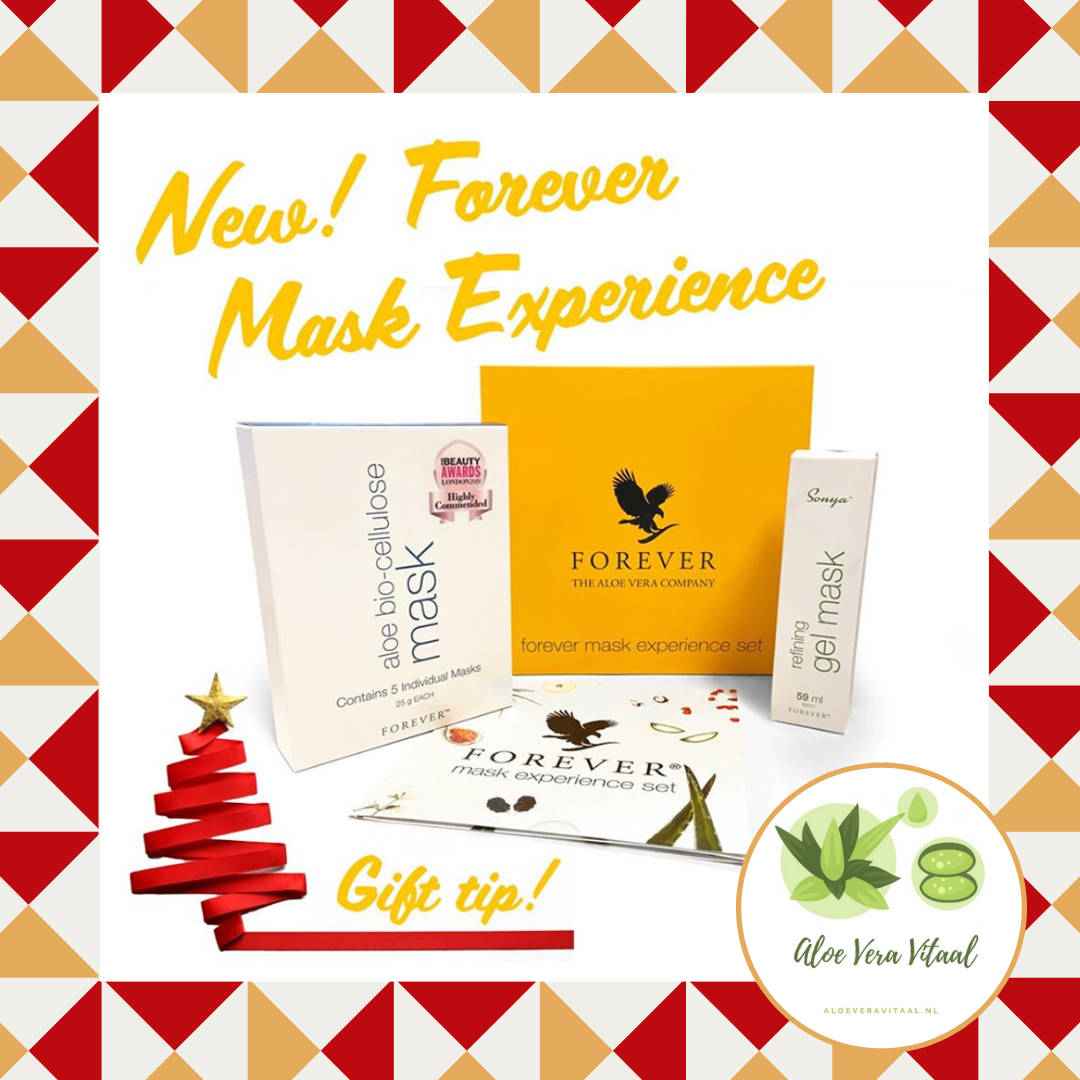 KERST CADEAU Forever Mask Experience Promo