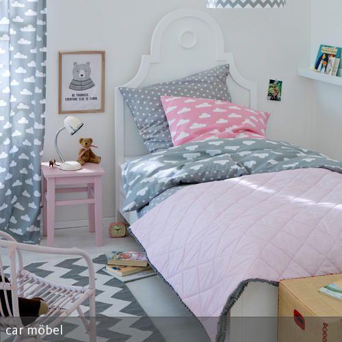 Kinderzimmer in Grau-Rosa Rosa, Wirken und Grau - gestalten rosa kinderzimmer kleine prinzessin