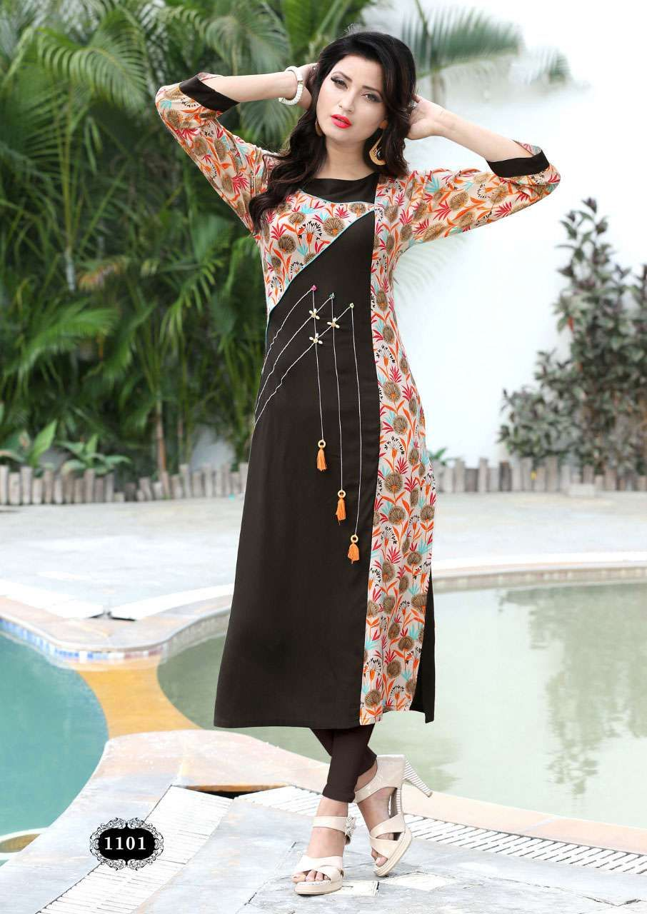 62af52452d6 ladies flavour udaan vol 2 kurti catalog rayon order now at sethnic.com  wholesale prices