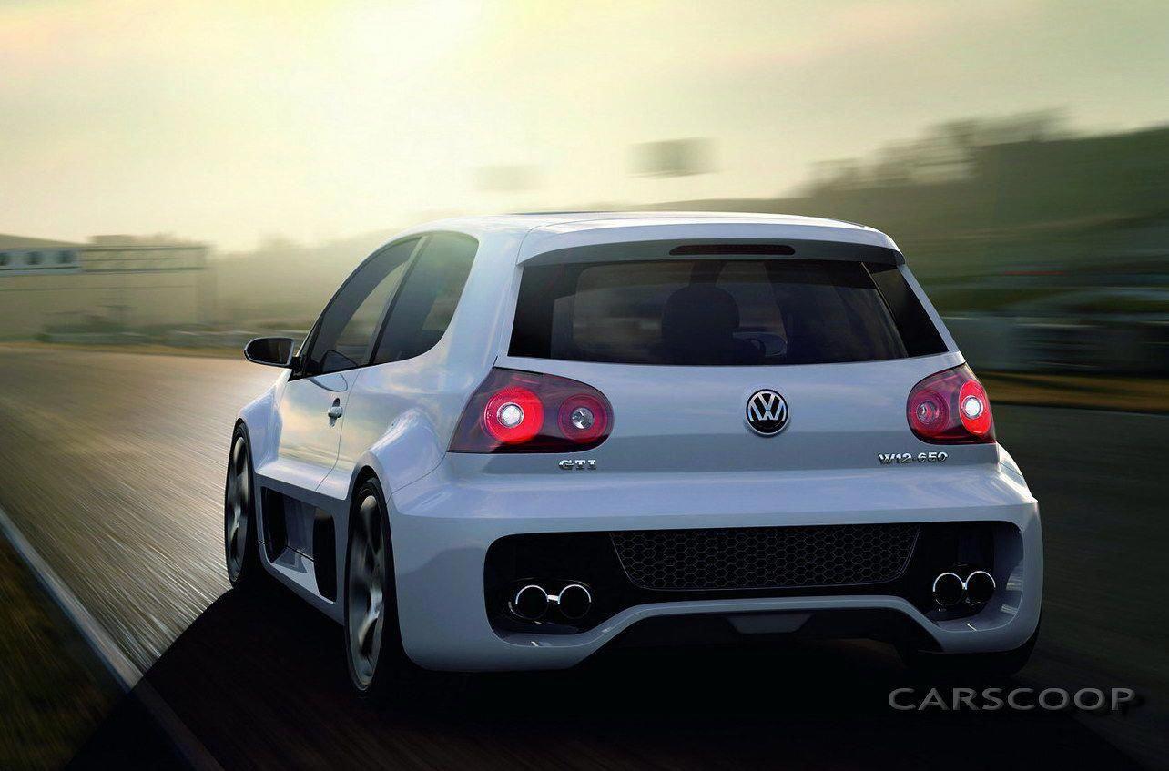 Vw Golf Gti W12 Concept 650hp 325km H Vww12wallpaper Vww12art Volkswagen Polo Gti Polo Gti Vw Polo Gti
