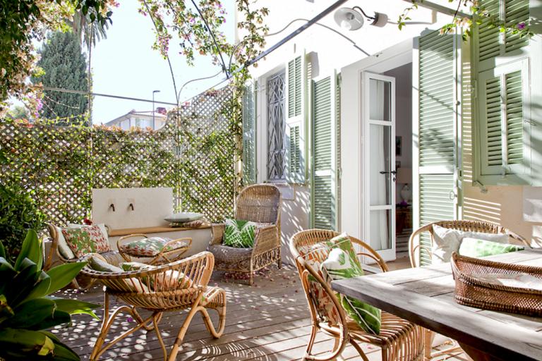 50 Idees Pour Amenager Un Salon D Ete L Art Et La Matiere Salon De Jardin Terrasse Idee De Decoration
