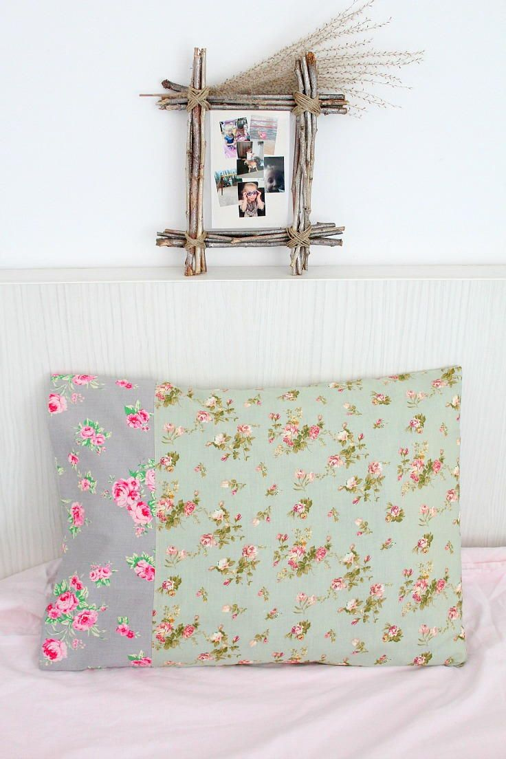Honestly Easy DIY Pillowcase