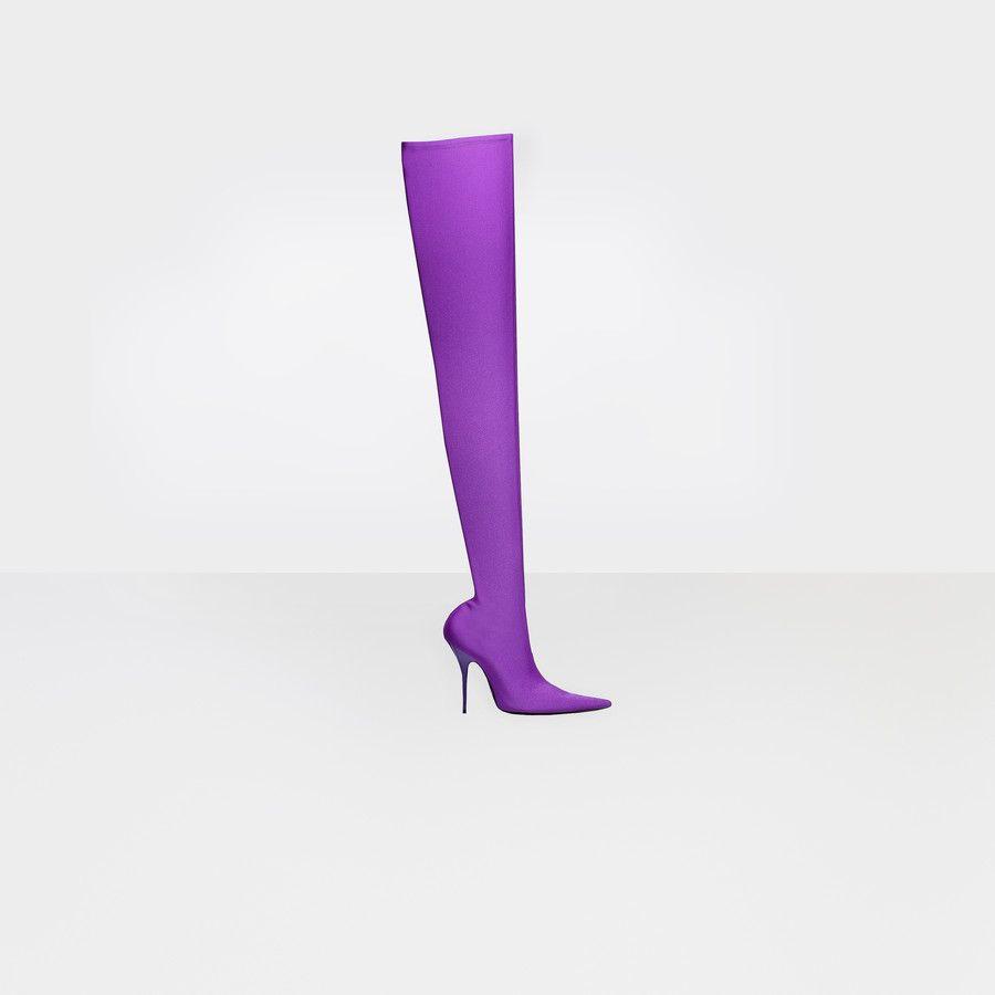 Balenciaga boots, Over the knee boots