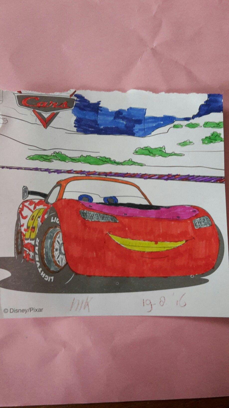 Cars Kleurboek Kleurboek Kleurplaten