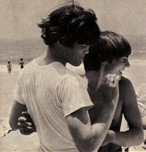 Micky Dolenz and Davy Jones of The Monkees. This picture melts and breaks my heart at the same time, since Davy is gone. :( truly bestfriends. <3