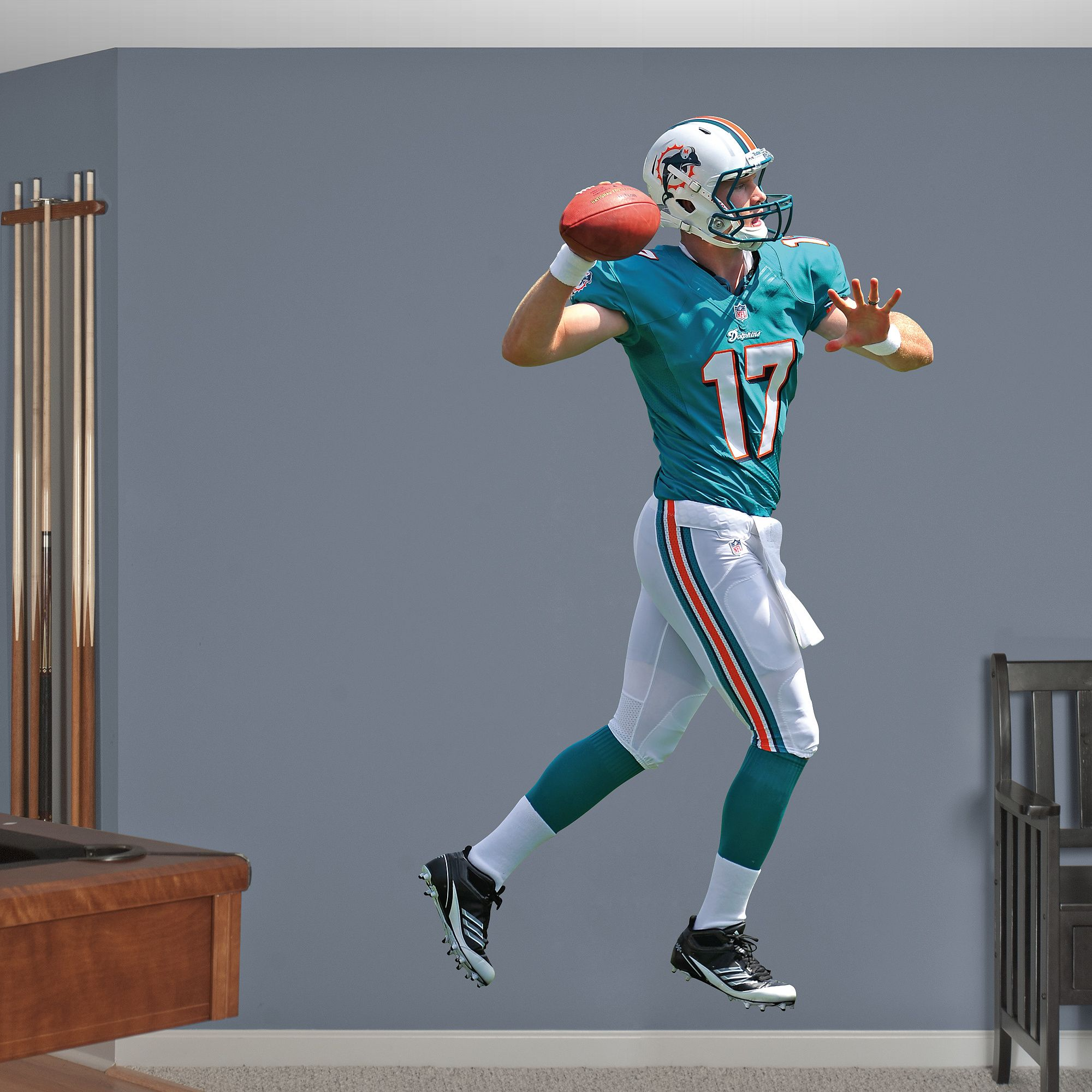 Fathead Wall Decal | Miami Dolphins Wall Decal
