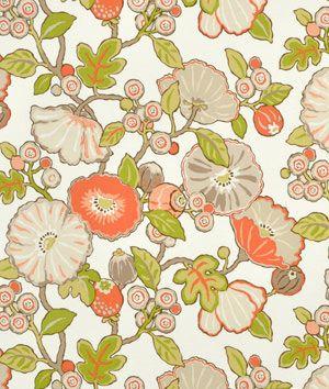 P Kaufmann Outdoor Hip Floral Sorbet Fabric 9 8