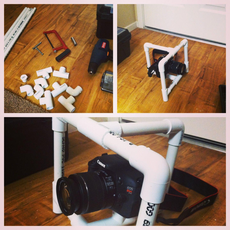 Diy Dslr Camera Rig: My New DIY Camera Rig! Saved Liked $300 Bucks! #diy #canon
