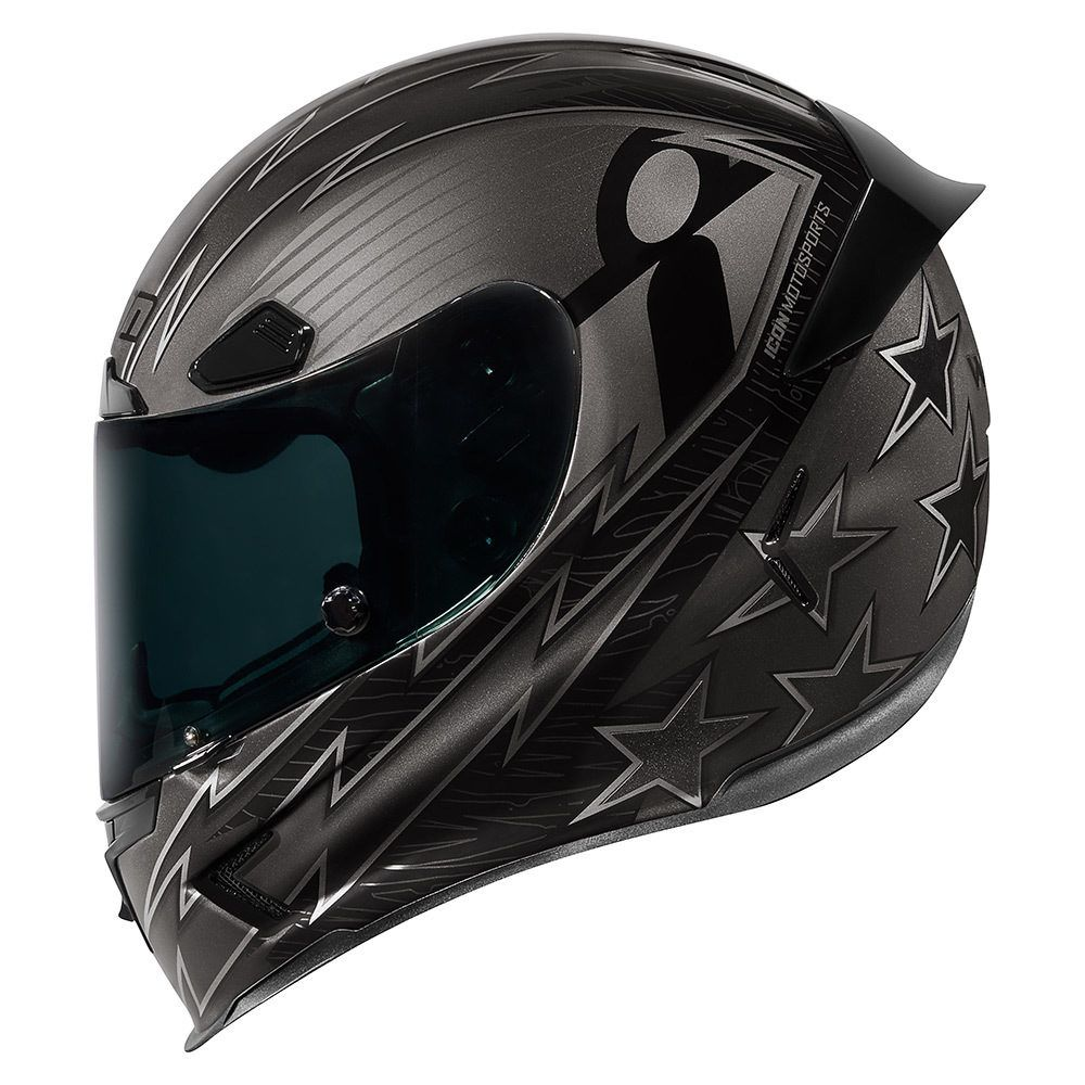 Warbird Black Helmets Icon Motosports Ride Among