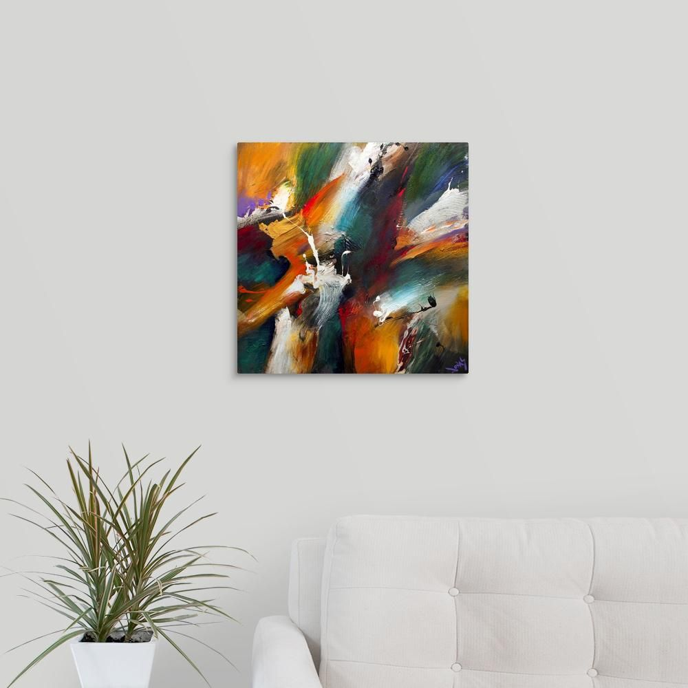 Primal Virtue By Jonas Gerard Canvas Wall Art Multi Colored