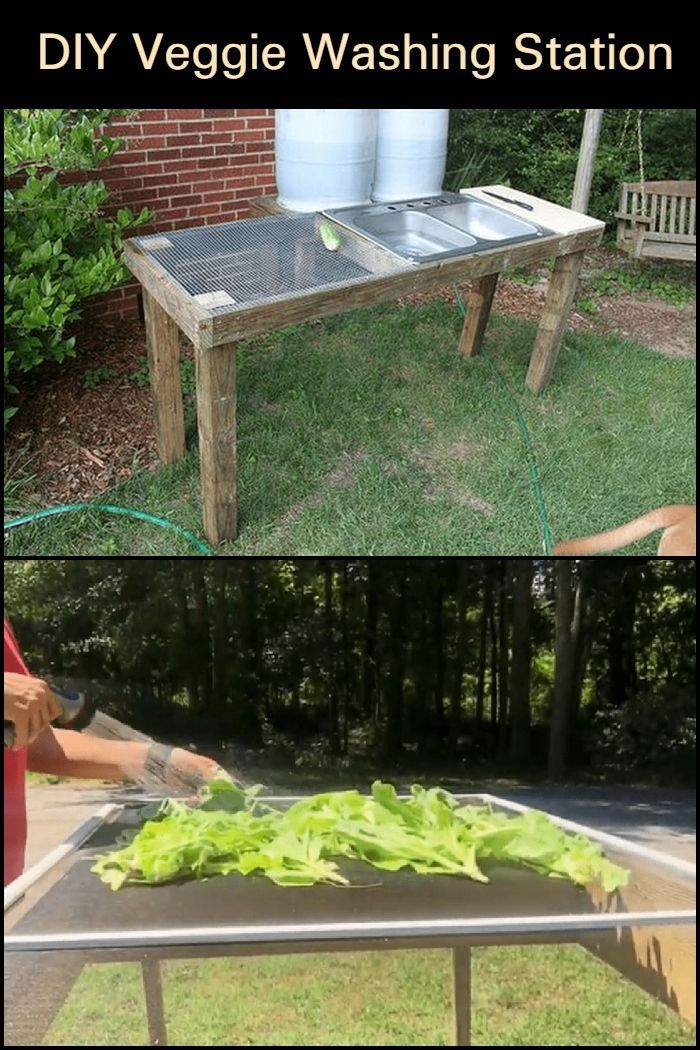 Diy Veggie Washing Station 2020 計画