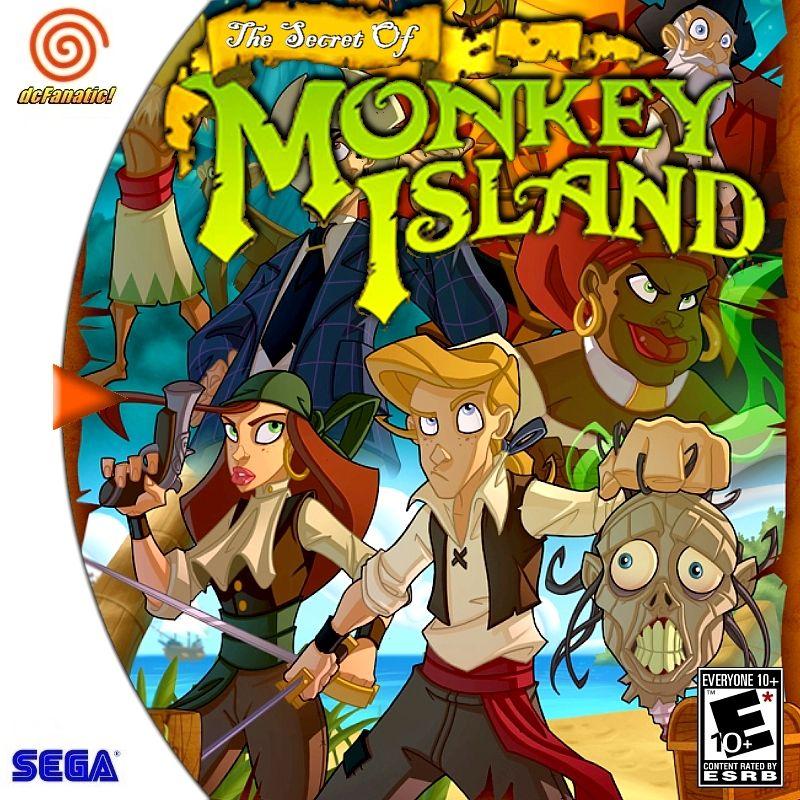 The Secret Of Monkey Island Cover Download • Sega Dreamcast