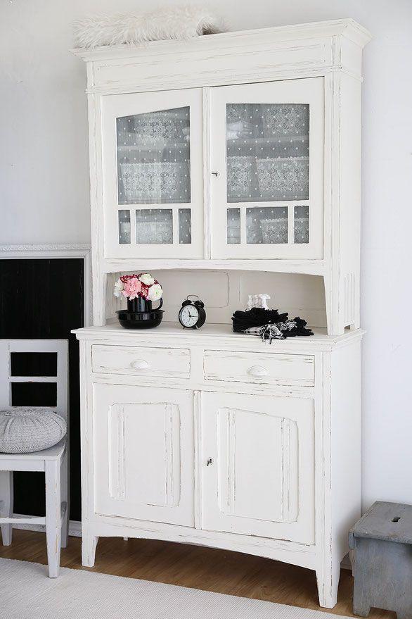 k chenbuffet in mint shabby chic schrank antiker k chenschrank vintage schrank shabby. Black Bedroom Furniture Sets. Home Design Ideas