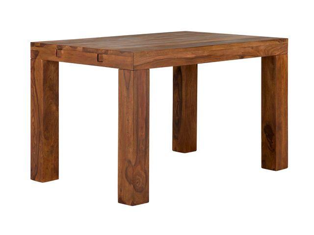 Esstisch-Cubus-120x80-AP-2x40-honig-Palisander Möbel Pinterest - küchentisch mit barhockern