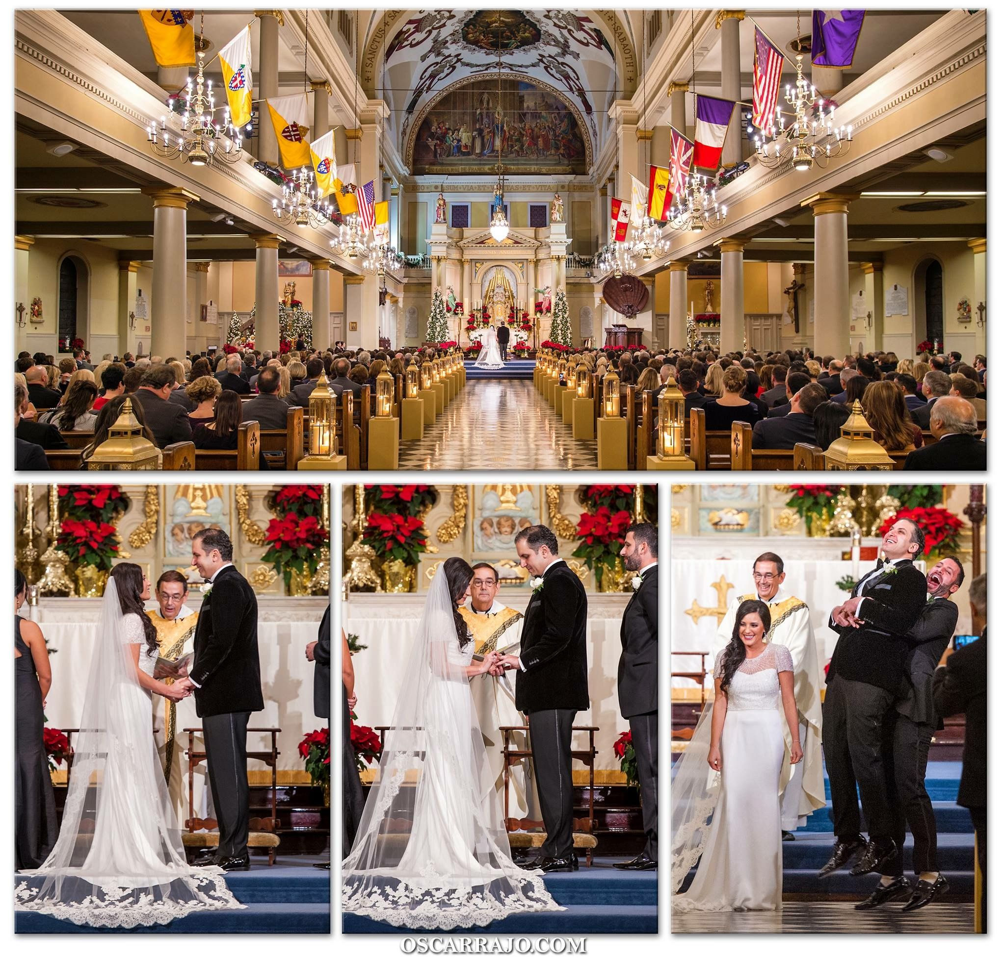Saint Louis Cathedral Wedding Coordination By Terry Cambise Event Consulting Flowers Kim Starr Wise Candle Light Decor Luminous Events Of