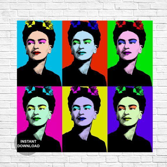 Frida Kahlo Frida Kahlo print Frida Kahlo Poster Frida | Etsy