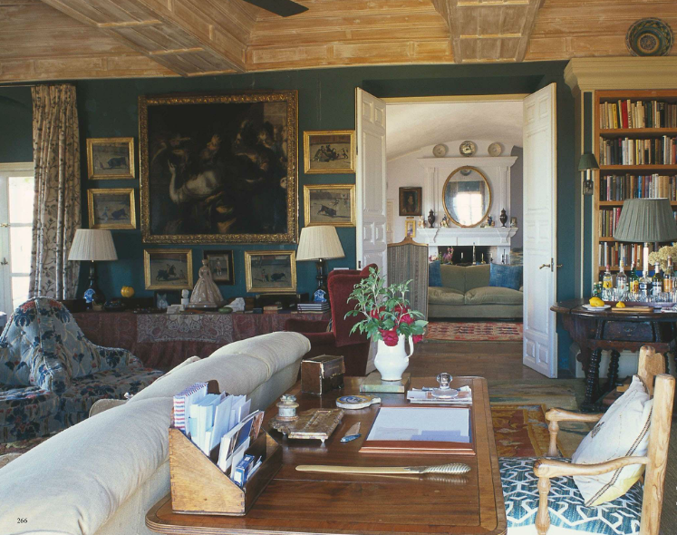 Open door. Jamie Parlade's estate, Alcuzcuz, in Spain, photographed by Ricardo Labougle for The World of Interiors.