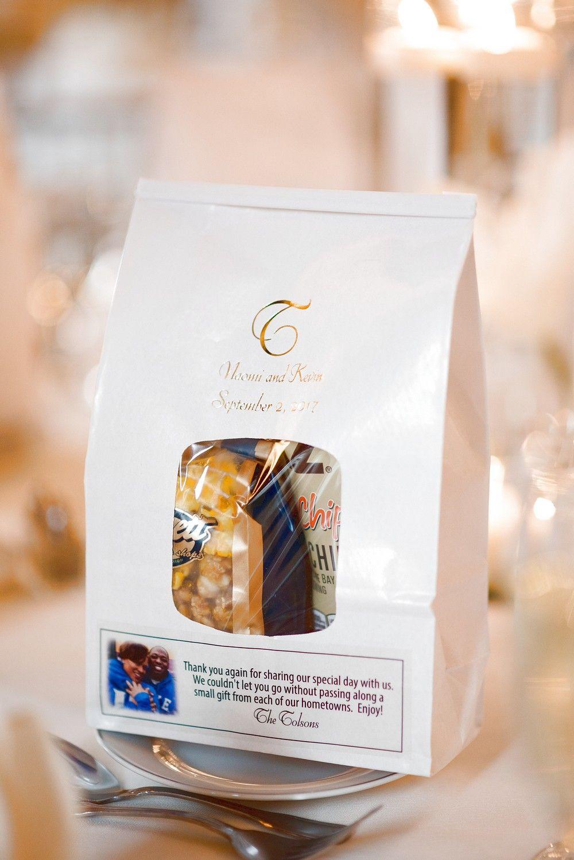 6 x 9 Custom Printed Window Tin Tie Goodie Bags (Set of 25) | Goodie ...