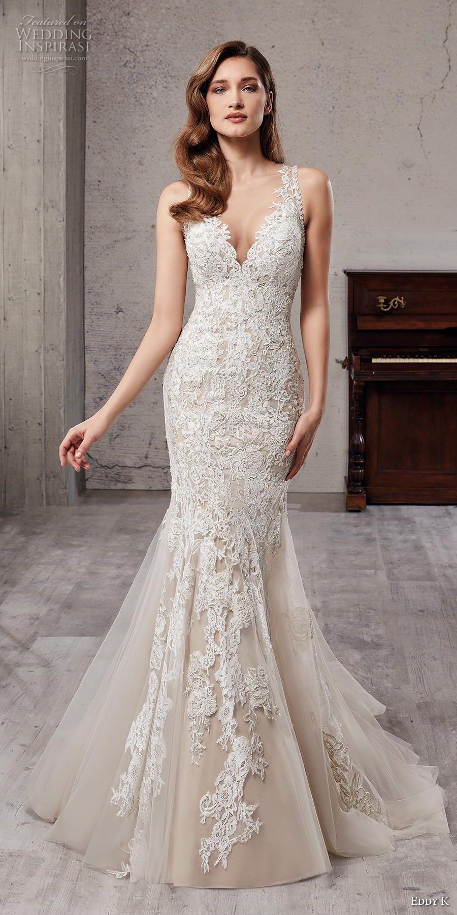 Elegant mermaid wedding dresses  Eddy K Couture  Wedding Dresses  Wedding   Pinterest