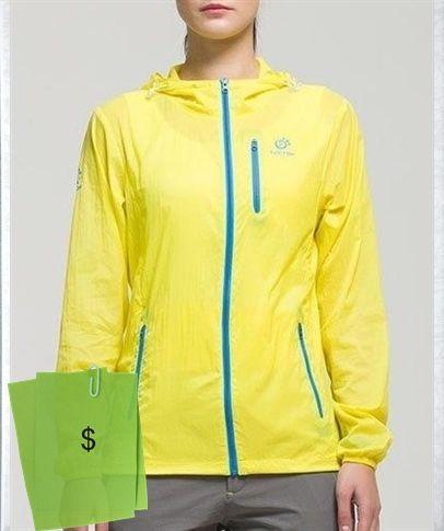 Stylish Hooded Zip Up Candy Color Sunshelter Lightweight Skin Jacket For  Women 6de016abf3