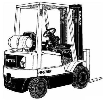 Пин на доске Hyster Truck Manuals