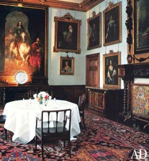 Historical Style Downton Abbey Interiors  Downton Abbey Castles Amusing Highclere Castle Dining Room Review