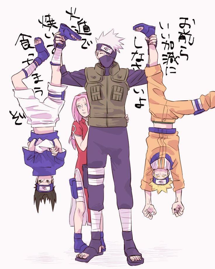 Anime: Naruto Personagens: Hatake Kakashi, Uzumak... - #Anime #Hatake #Kakashi ... - BestBLog