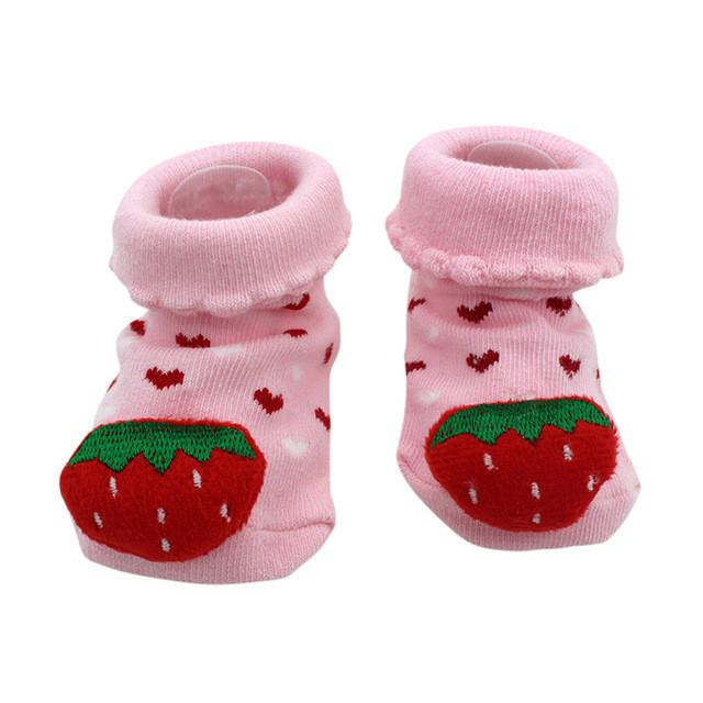 Baby socks Cartoon Newborn Baby Girls Boys Anti-Slip Socks Slipper Shoes  Boots Kids sock Item Type  Sock Department Name  Baby Brand Name  MUQGEW  Style  ... c9ff317b406a
