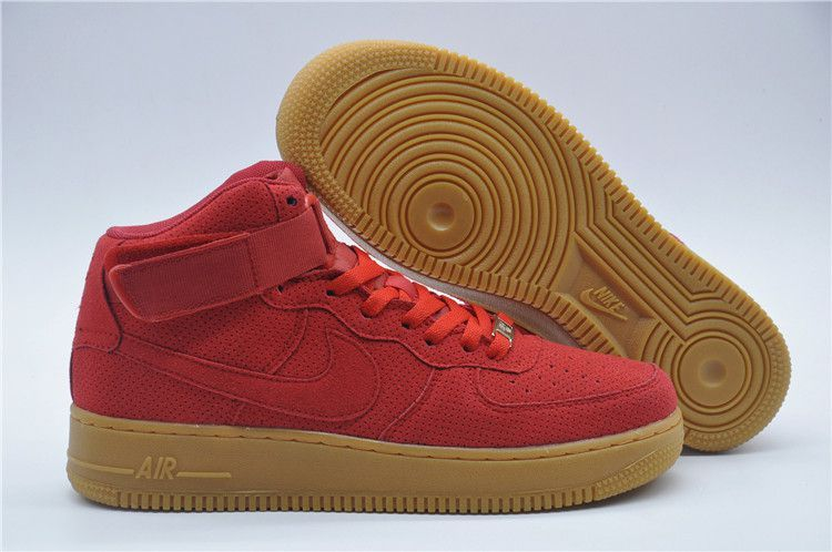 nike air force 1 taille 39 air force 1 mid rouge