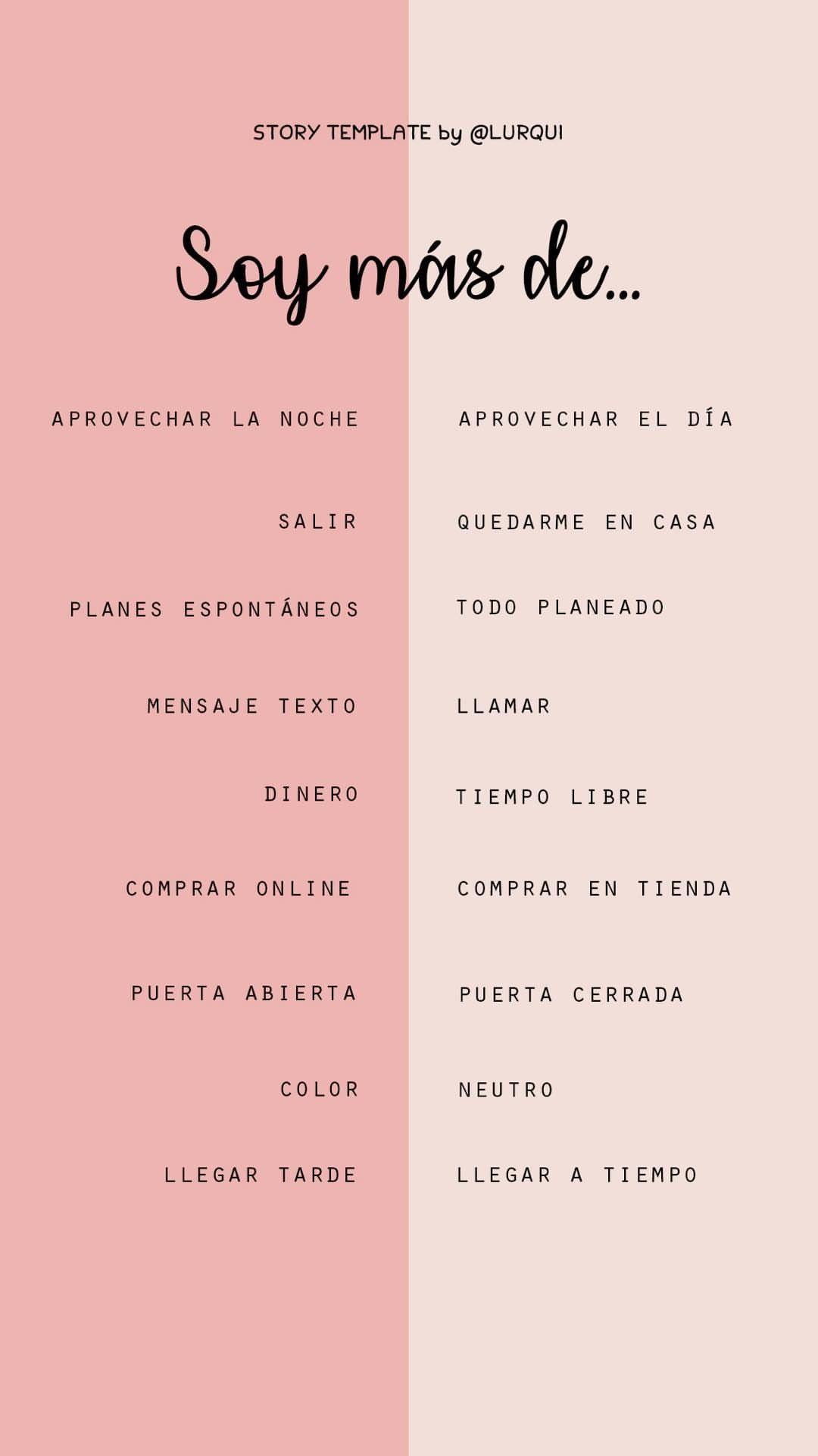 Plantillas | instagram | Pinterest | Plantas, Retos y Estados para ...