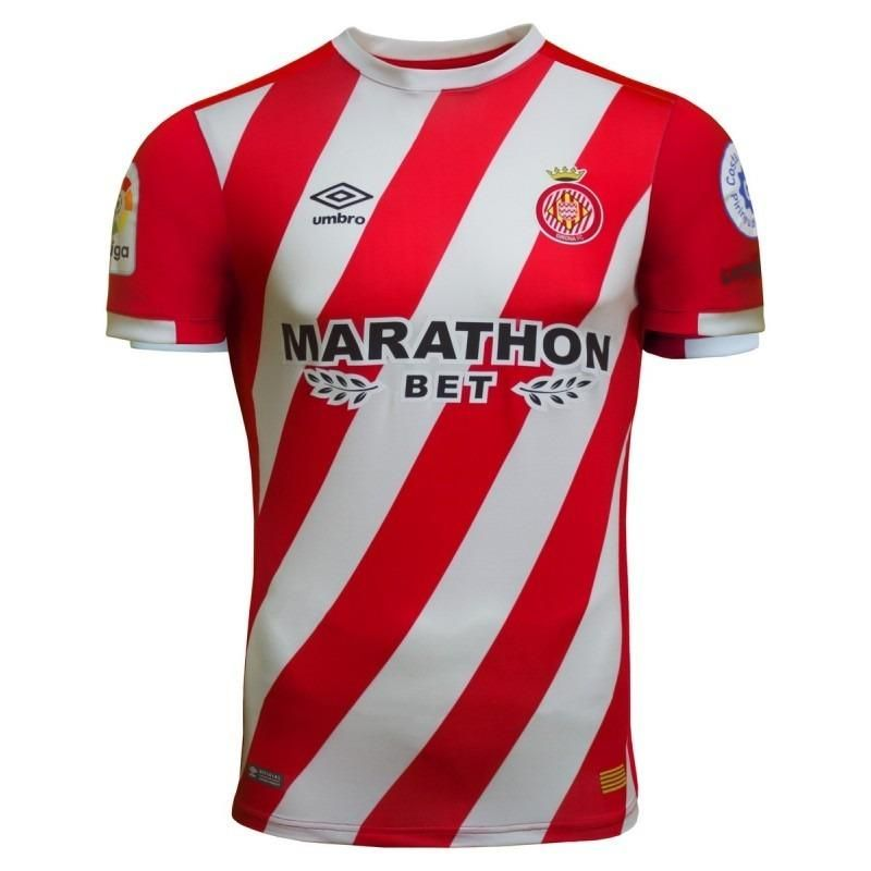 Girona FC Umbro Home 2018-2019 Club de football FÚTBOL SOCCER KIT CALCIO  SHIRT JERSEY FUSSBALL CAMISA ... 5da22bf4f4579