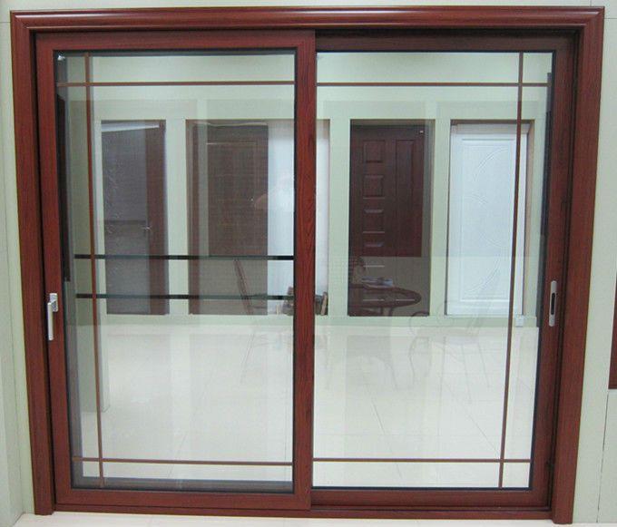 180 Series Aluminum Glass Sliding Door With Screen Window 2