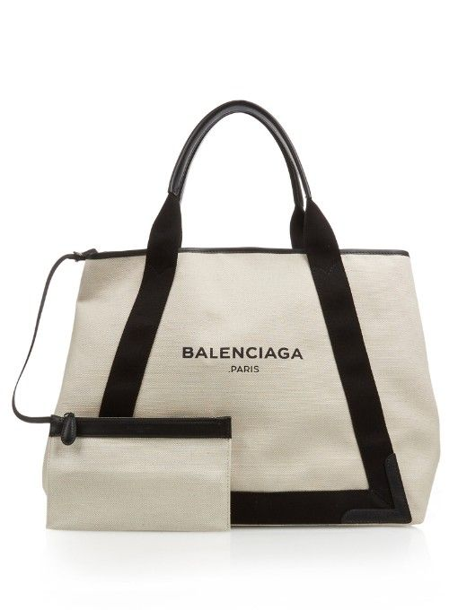 320ef7ec0 Balenciaga Ligne Cabas M cotton-canvas shopper | Hang it up ...