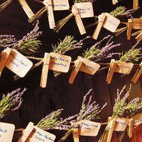 Quelques idées de décoration lavande pour vos réceptions