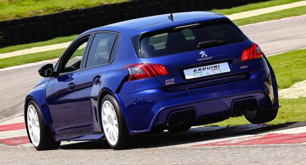 One Off Tuned Peugeot 308 Gti Has Racing Inspired Looks 302 Ps