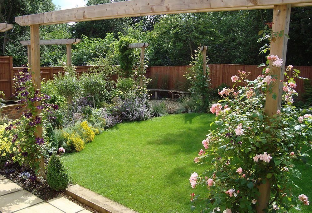 10 Backyard Lighting ideas | Small garden design, Small ...