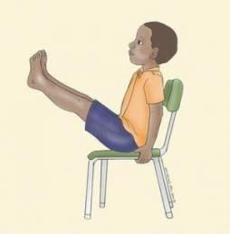 62 ideas for yoga for kids chair yoga  chair pose yoga