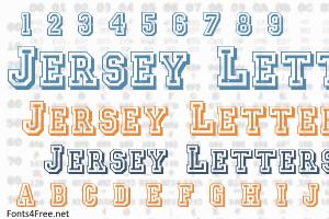 Jersey Letters Font Lettering Fonts Old School Fonts Jersey Font