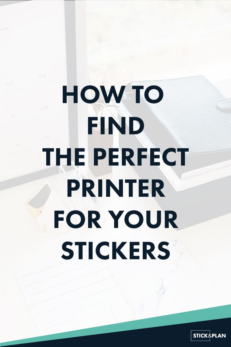 How To Find The Best Printer For Making Stickers Crafts