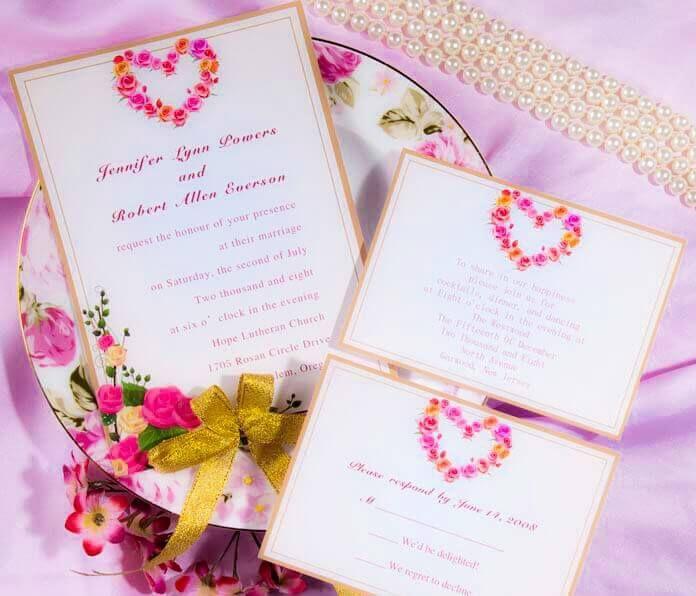 Increibles Invitaciones de boda para imprimir gratis en casa¡Bellas - invitaciones de boda gratis