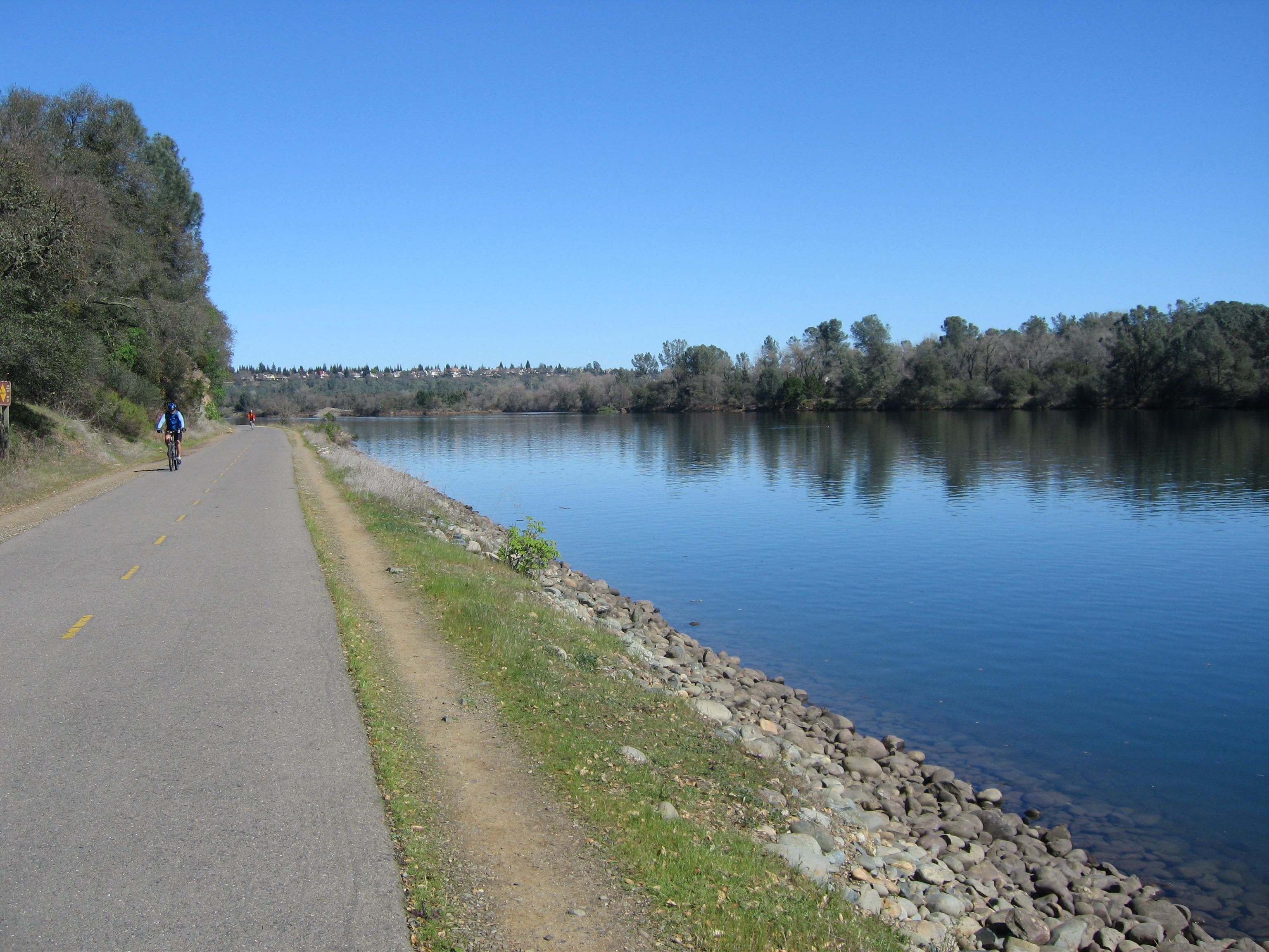 Bike and walking trails in folsom ca fun things to do